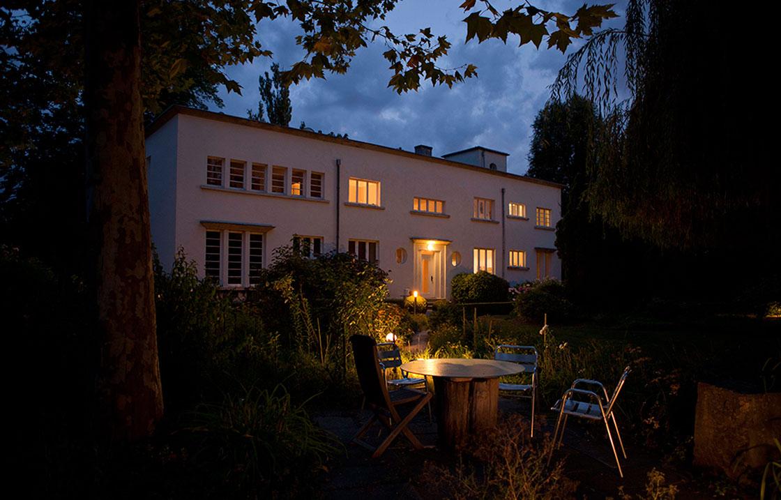Le doux climat d'Alsace permet de profiter de l'extérieur une grande partie de l'année.